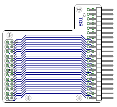 GPIO Adapter for RPi B+