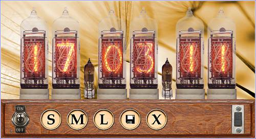 Axiris Nixie Clock